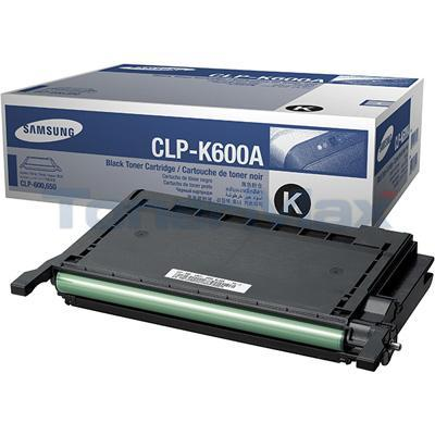 SAMSUNG CLP-600 TONER CARTRIDGE BLACK